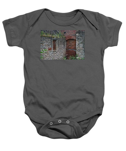 Brick And Stone England Baby Onesie
