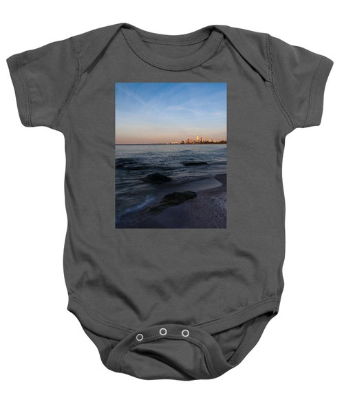 Cleveland From The Shadows Baby Onesie