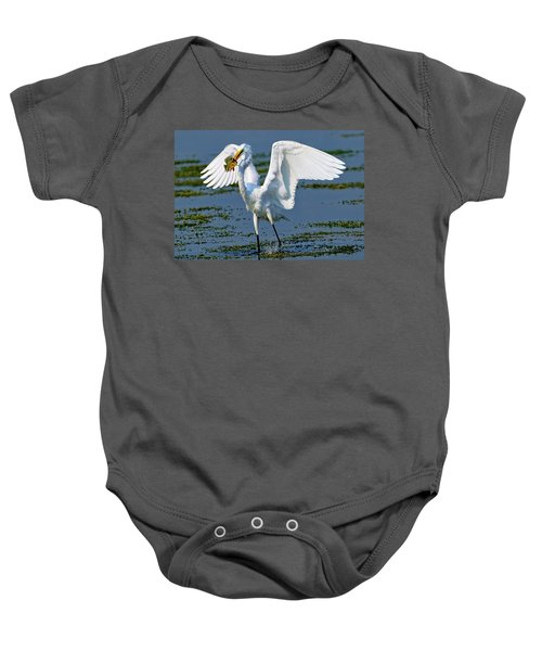 Fish'n In The Morning Baby Onesie
