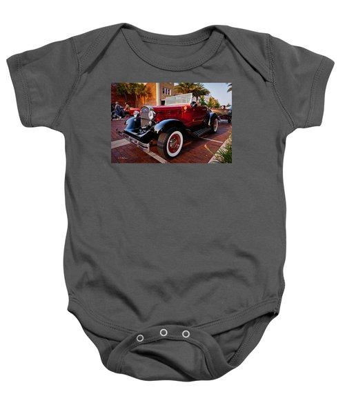 Ford Roadster Baby Onesie