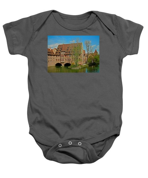 Heilig-geist-spital In Nuremberg Baby Onesie