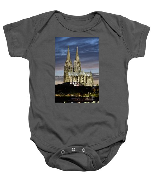 High Cathedral Of Sts. Peter And Mary In Cologne Baby Onesie
