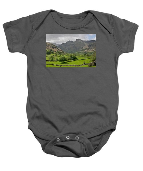 Lake District England Baby Onesie