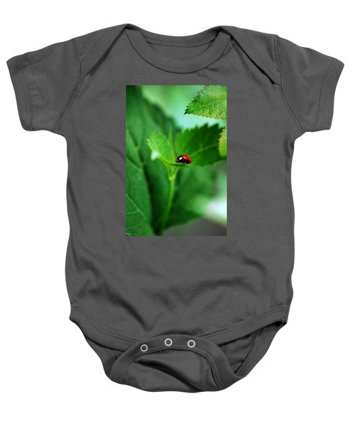 Little Red Lady Baby Onesie