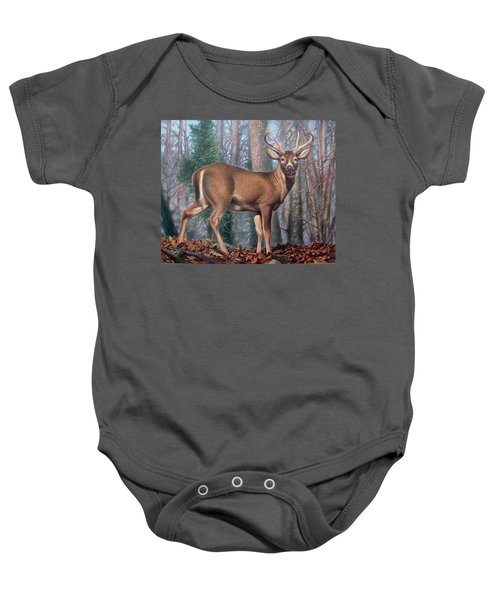 Missouri Whitetail Deer Baby Onesie