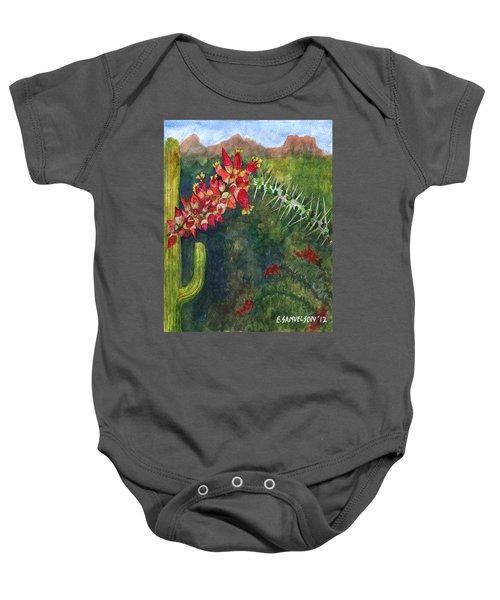 Ocotillo Spring Baby Onesie