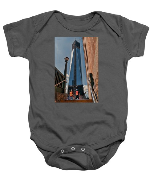 One Wtc First Look Baby Onesie