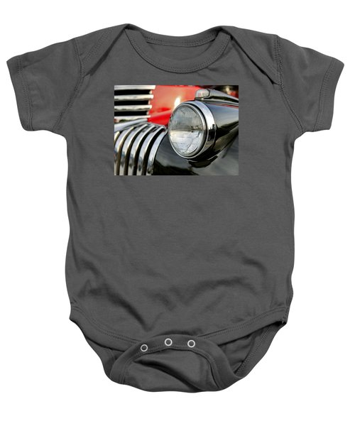 Pickup Chevrolet Headlight. Miami Baby Onesie