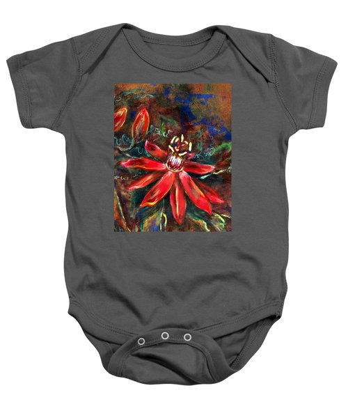Red Passion Baby Onesie