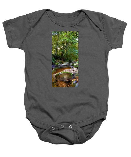 River In Cawdor Big Wood Baby Onesie