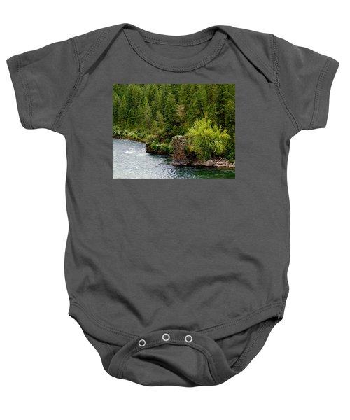 Rockin The Spokane River Baby Onesie