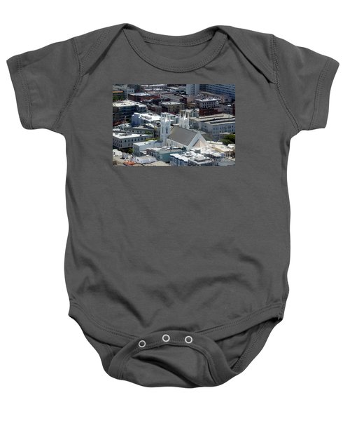 San Francisco St Francis Of Assisi Church Baby Onesie