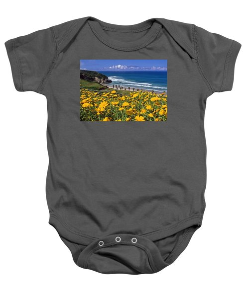 Springtime On The Headlands Baby Onesie