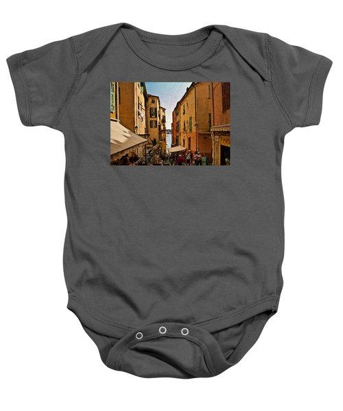 Street In Villefranche II Baby Onesie