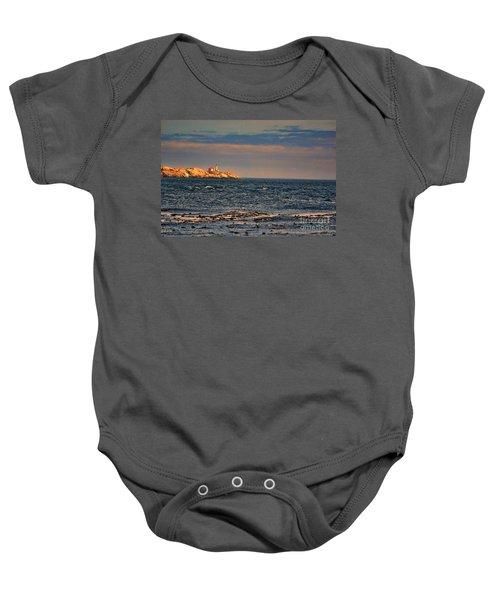 Sunset Over British Columbia Baby Onesie