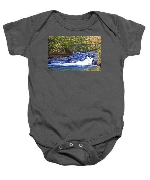 Swiftly Flowing River Baby Onesie