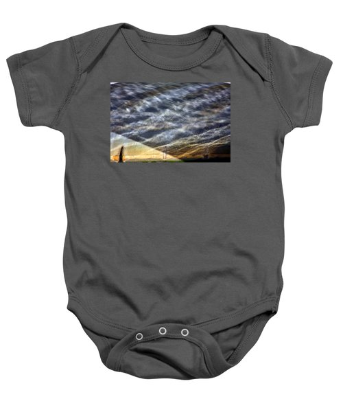 Thames Reflections Baby Onesie