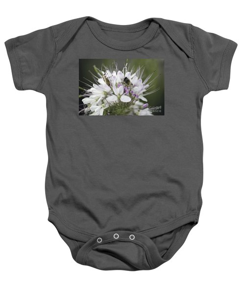 The Beetle And The Bee Baby Onesie