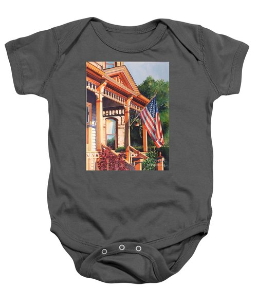The Founders Home Baby Onesie