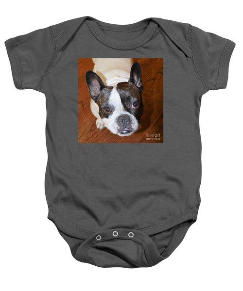 The French Bulldog Baby Onesie