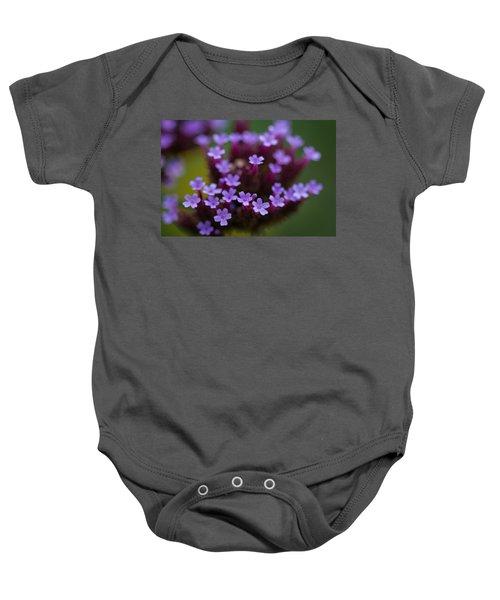 tiny blossoms II Baby Onesie