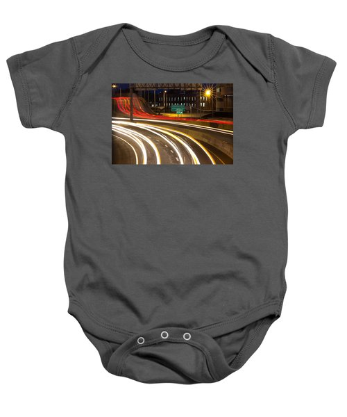 Traveling In Time Baby Onesie