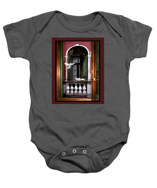 Venice Window Baby Onesie