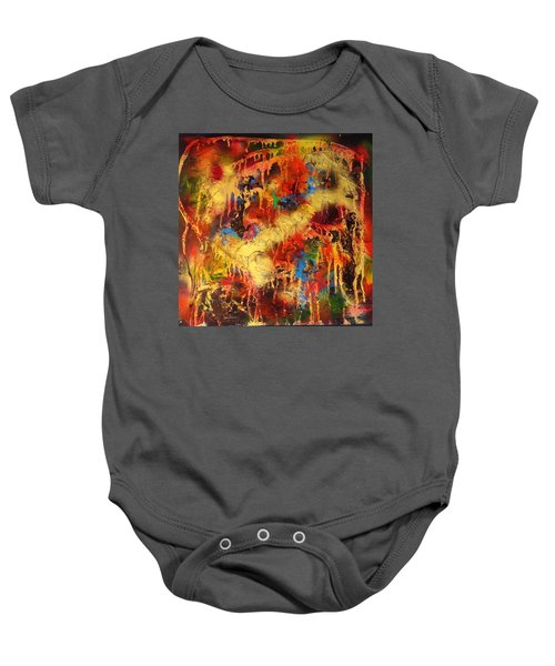 Walk Through The Fire Baby Onesie