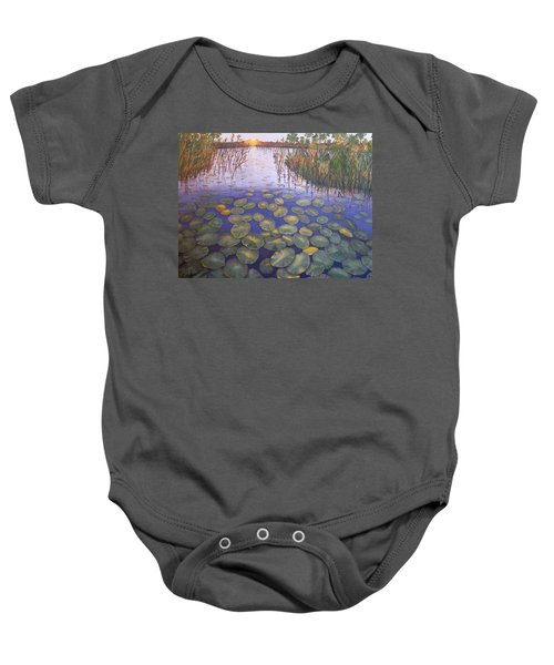 Waterlillies South Africa Baby Onesie