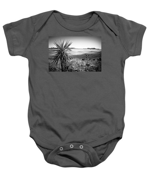 Yucca With A View Baby Onesie