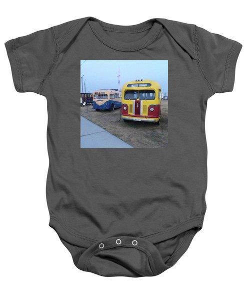 Retro Bus Baby Onesie