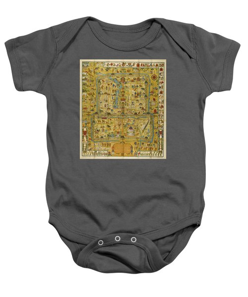 A Map And History Of Peiping Baby Onesie