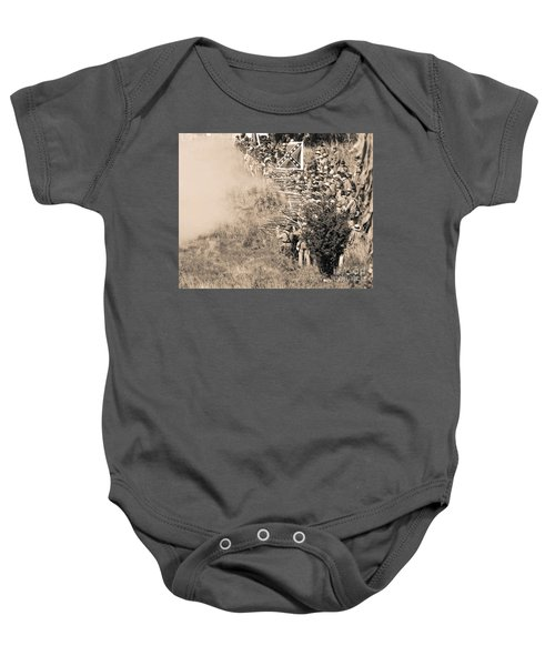 Gettysburg Confederate Infantry 8769s Baby Onesie