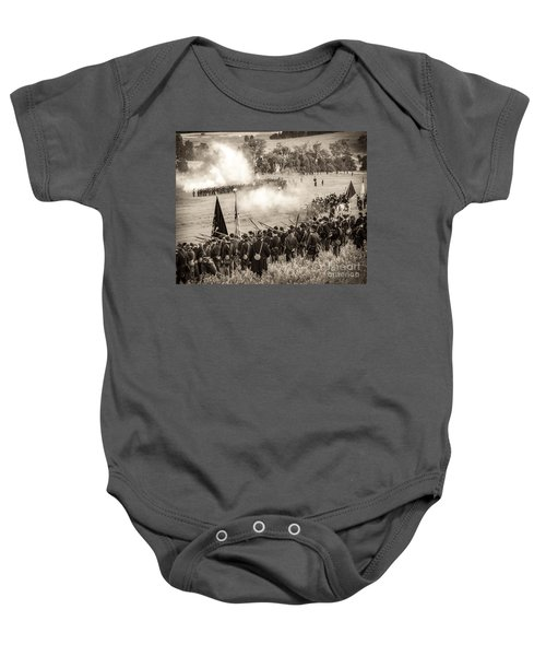 Gettysburg Union Artillery And Infantry 7496s Baby Onesie