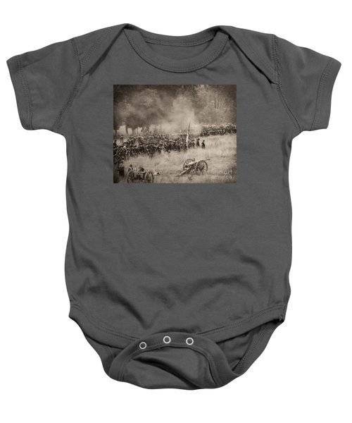 Gettysburg Union Artillery And Infantry 8456s Baby Onesie