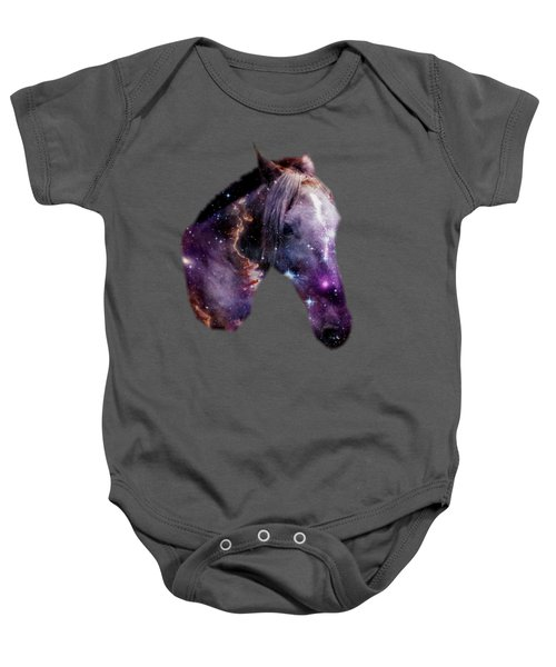 Horse In The Small Magellanic Cloud Baby Onesie