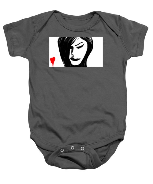 Pain Of Separation Baby Onesie