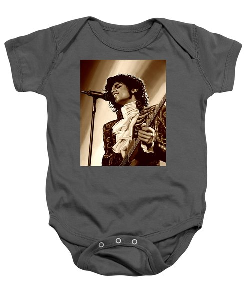 Prince The Artist Baby Onesie by Paul Meijering