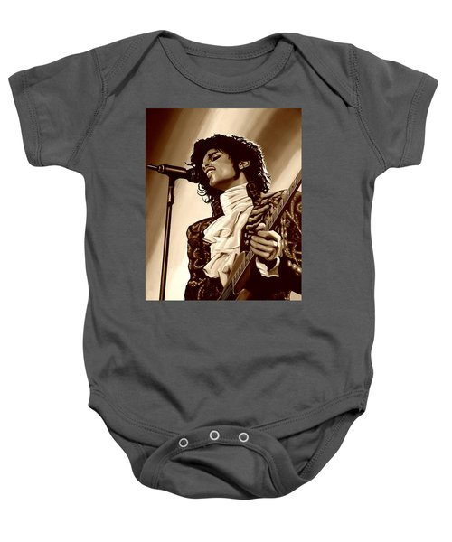 Prince The Artist Baby Onesie
