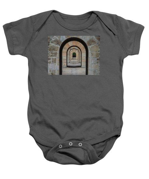 Receding Arches Baby Onesie