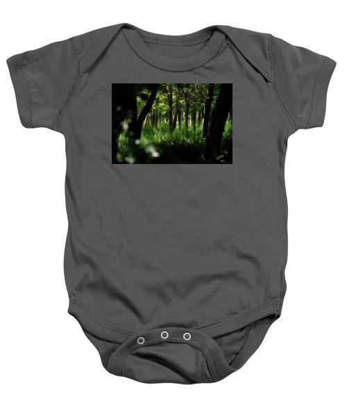 A Walk In The Woods Baby Onesie