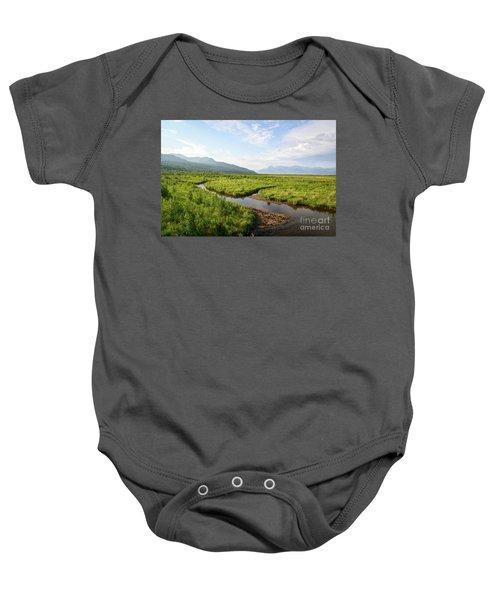 Alaskan Valley Baby Onesie