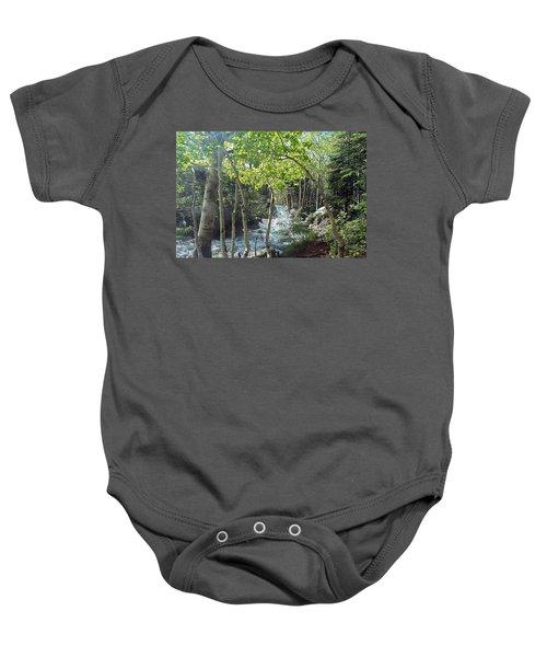 Along Alberta Falls Trail Rocky Mountain National Park Baby Onesie