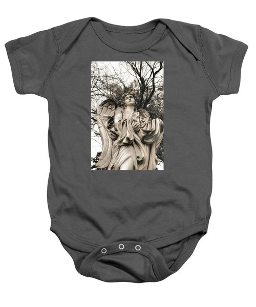 Angel In The Fall Baby Onesie