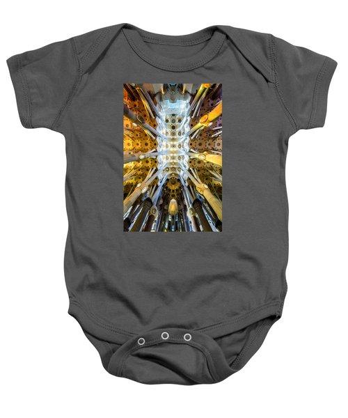 Basilica De La Sagrada Familia Baby Onesie