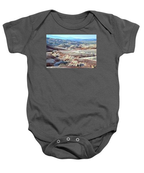 Bentonite Clay Dunes In Cathedral Valley Baby Onesie