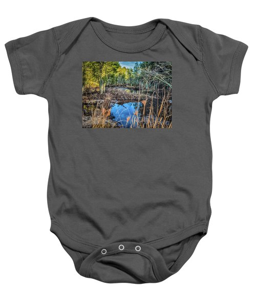 Blue Reflection Baby Onesie