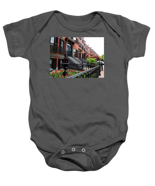 Boston's South End Baby Onesie