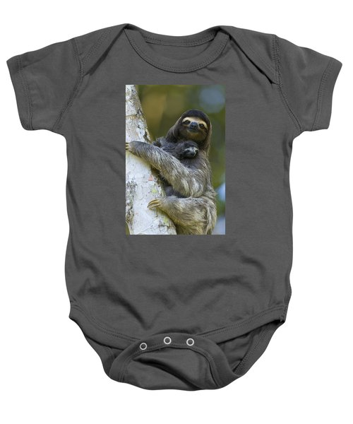 Brown-throated Three-toed Sloth Baby Onesie