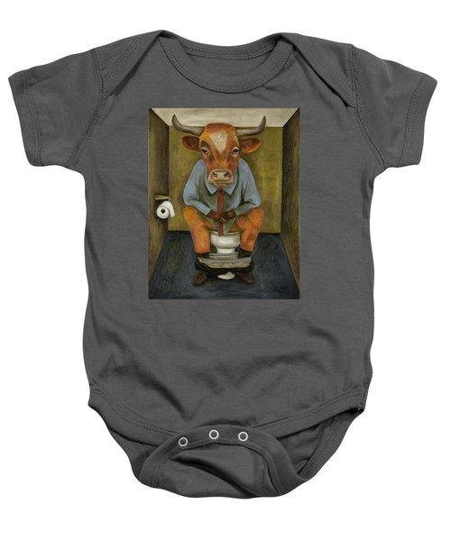 Bull Shitter Baby Onesie